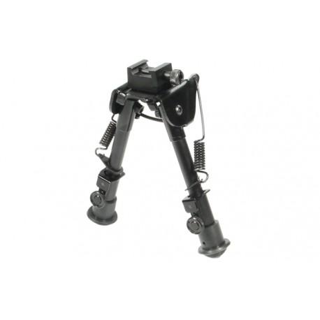 Сошки Leapers для установки на оружие на планку Picatinny, регулируемые, высота 15 - 20 см