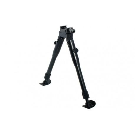 Сошки Leapers для установки на оружие, регулируемые, на антабку и Picatinny, высота 23-28 см