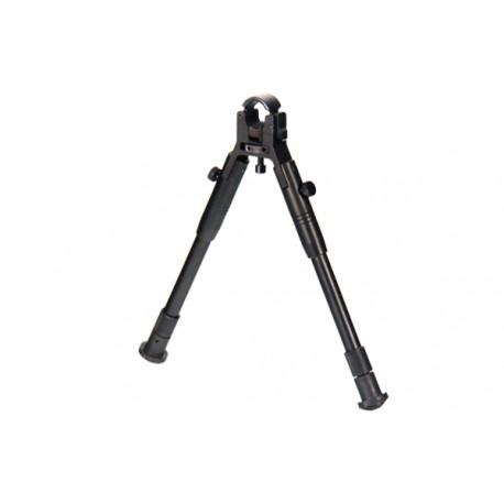 Сошки Leapers для установки на ствол оружия, регулируемые, усиленные, высота от 22 до 26 см