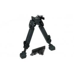 Сошки Leapers для установки на оружие на планку Picatinny, регулируемые, высота 15 - 21,25 см