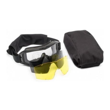Очки тактические защитные Locust с двумя сменными стеклами в чехле