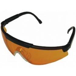 Очки стрелковые Sporty оранжевые УФ-защита, класс оптики 1.