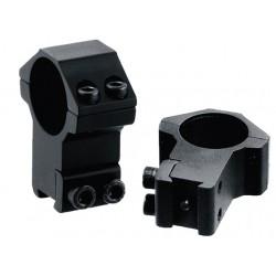 Кольца Leapers Accushot 30 мм для установки на оружие с призмой 10-12 мм, STM, высокие
