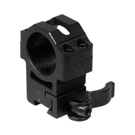 Кольца Leapers UTG 25,4 мм быстросъемные на 11 мм с рычажным зажимом, высокие 60 шт/кор