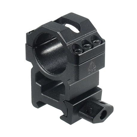 Кольца Leapers UTG 25,4 мм быстросъемные на Weaver с винтовым зажимом, высокие, 3 винта 100 шт/кор