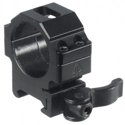 Кольца Leapers UTG 30 мм быстросъемные на Picatinny с рычажным зажимом, низкие