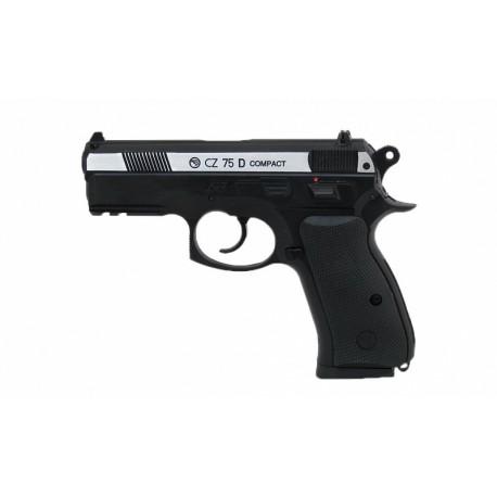 CZ-75 compact пистолет пневматический, металл.,пластик, подвижный затвор