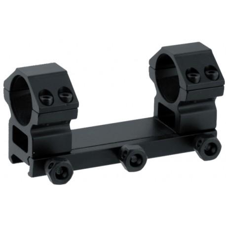 Кронштейн LEAPERS AccuShot с кольцами 25,4 мм, для установки на Weaver, средний (60 шт./уп.)