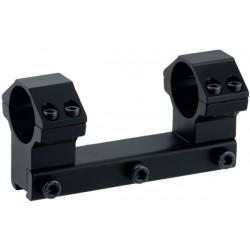 Кронштейн LEAPERS AccuShot с кольцами 25,4 мм, для установки на призму 10-12 мм, высокий (60 шт/кор)