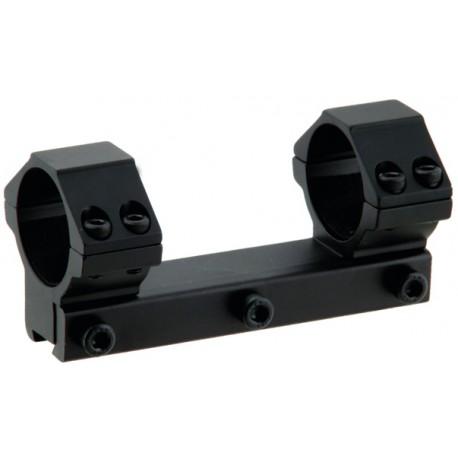 Кронштейн LEAPERS AccuShot с кольцами 25,4 мм, для установки на призму 10-12 мм, средний (60 шт/кор.)