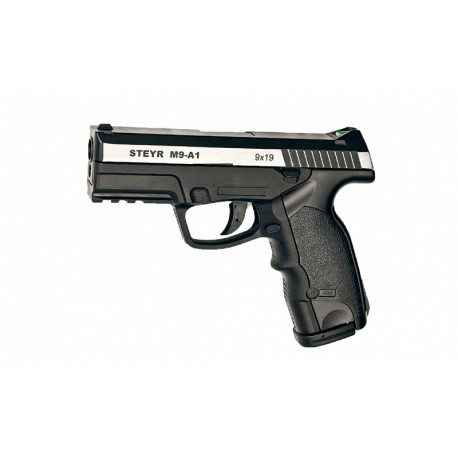 Steyr M9-A1 пистолет пневматический, металл, пластик, (металлический затвор)