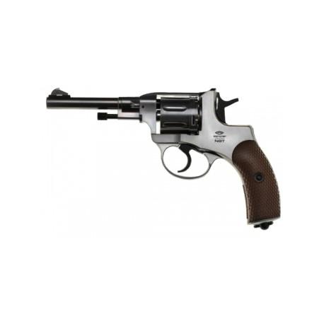 Пневматический пистолет Gletcher NGT Silver 4,5 мм