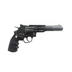 Пистолет пневм. S&W Military&Police 327 TRR8 (черный с чёрн. рукояткой)