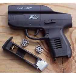 Пистолет пневм. Umarex Red Hawk (чёрный с чёрн. пласт. накладками)