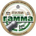 """Пуля пневм. """"Гамма"""" (250 шт.), 0,83 гр, кал. 4,5 мм"""