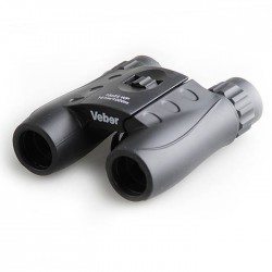 Бинокль Veber 10х25 WP черный