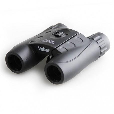 Бинокль Veber 10*25 WP черный