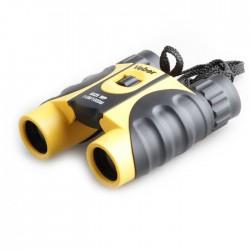 Бинокль Veber 10х25 WP черный-желтый