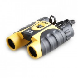 Бинокль Veber 8х25 WP черный-желтый