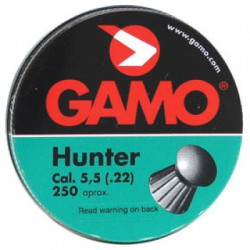 "Пуля пневм. ""Gamo Hunter"" кал. 5,5 мм. (250 шт.)"