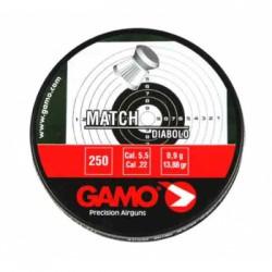 """Пуля пневм. """"Gamo Match"""", кал. 5,5 мм. (250 шт.)"""