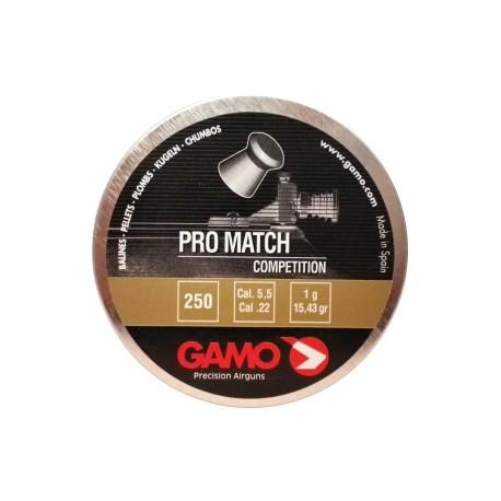 "Пуля пневм. ""Gamo Pro-Match"", кал. 5,5 мм. (250 шт.)"