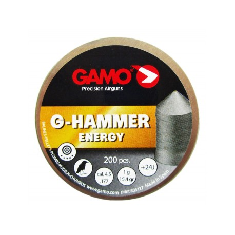 "Пуля пневм. ""Gamo G-Hammer"", кал. 4,5 мм., 1 гр (15,4 гран) (200 шт.)"