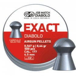 Пули пневматические EXACT Diabolo 4,5 мм 0,547 грамма