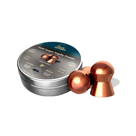 Пули пневматические H&N Field Target Trophy Power 4,5 мм 0,57 грамма (300 шт.)