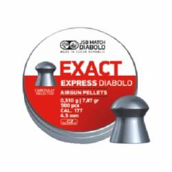 Пули пневматические EXACT Express Diabolo 4,5 мм 0,51 грамма (500 шт.)