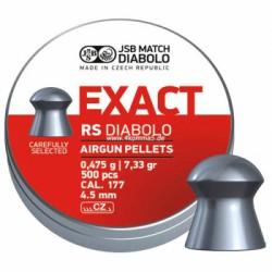 Пули пневматические EXACT Diabolo RS 4,5 мм 0,475 грамма (500 шт.)