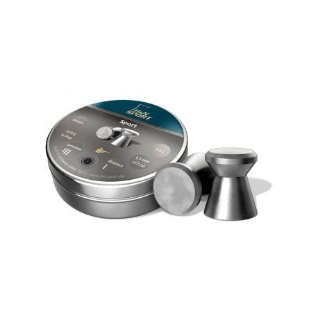 Пули пневматические H&N Sport 4,5 мм 0,53 грамма (500 шт.)