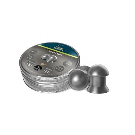 Пули пневматические H&N Sniper Light 4,5 мм 0,49 грамма (500 шт.)