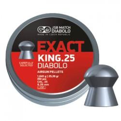 Пули пневматические JSB Diabolo Exact King 6.35 мм 1.645 грамма (350 шт.)
