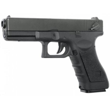 Пистолет страйкбольный Glock 18C CYMA CM030