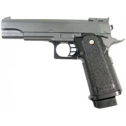 Cтрайкбольный пистолет Galaxy G.6 Colt 11PD металлический, пружинный