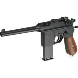 Cтрайкбольный пистолет Galaxy G.12 Mauser металлический, пружинный
