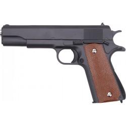 Cтрайкбольный пистолет Galaxy G.13 Colt 1911 металлический, пружинный