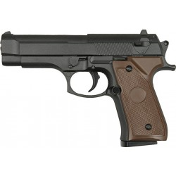 Cтрайкбольный пистолет Galaxy G.22 Beretta 92 металлический, пружинный