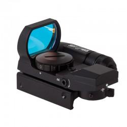 Коллиматорный прицел Sightmark панорамный с лазерным целеуказателем, 4 марки, крепление на Weaver/Picatinny
