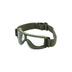 Защитные очки Гром, 3 сменные линзы (Olive)
