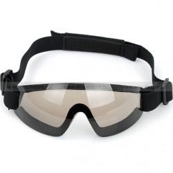 Очки Low profile goggles, коричневые