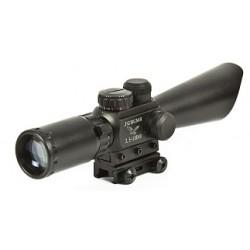 Прицел оптический Marcool M8 LS 3.5-10X40E Rifle Scope, с встроенным красным ЛЦУ (HY1153)