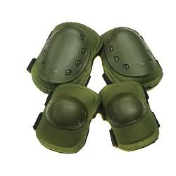 Наколенники и налокотники US Army (Olive)