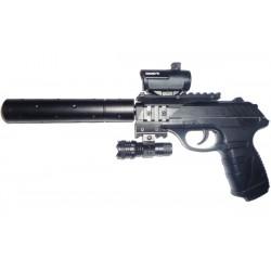 Пневматический пистолет Gamo P-25 Tactical Blowback pellet