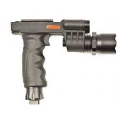 Ручка тактическая Marcool M900 RED laser LED flashlight grip (HY3165)