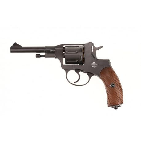 Пневматический пистолет Gletcher NGT Black (Наган)