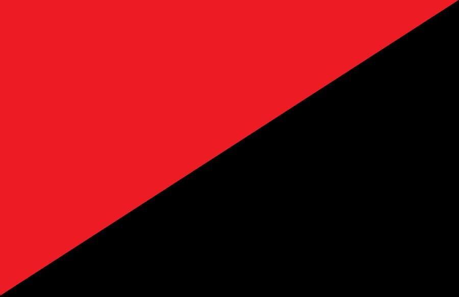 Черный / красный цвет